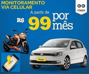 Rastreamenteo veicular via celular em todo Brasil