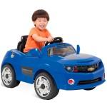 Comprar Camaro infantil Azul Bandeirante com controle