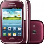 Comprar Smartphone Samsung Galaxy Young Plus desbloqueado Wi-Fi com Câmera 3MP e TV