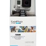 Câmera Gopro Hero 3 preta com Wi-fi integrado