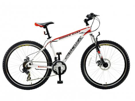 Bicicleta Aro 26 Runner Alloy 21 Marchas, Freio a Disco, Quadro em alumínio, Câmbio Shimano - Fischer