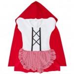 Comprar Vestido Body fantasia Chapeuzinho vermelho com capa