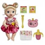 Comprar Boneca Baby Alive Loira Hora de Comer da Hasbro com frases e sons