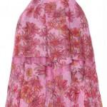 Vestido Lilas Lilica Ripilica infantil estampado com forro