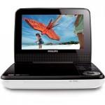 Dvd Player portátil Philips com LCD 7 polegadas e entrada USB