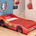 Mini Cama vermelha tema Carros Disney Pura Magia