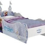 Cama infantil Frozen Disney Star com torre tamanho Padrão Solteiro