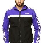 Jaqueta masculina Adidas originals roxa esportiva