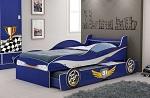 Cama Infantil Menino Carro Enzo Azul Gelius
