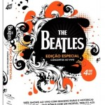 Box com 4 dvds The Beatles Concertos ao vivo edição especial