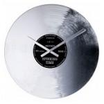 Relógio decorativo de parede Silver Record