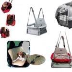 Caixas e mochilas para transportes de animais em promoção