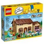 Lego Simpsons tema A Casa dos Simpsons em oferta