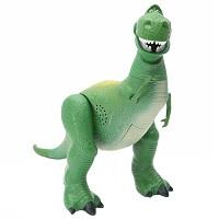 Boneco Rex com Som do filme Toy Story Mattel