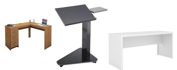 Mesas para Computador e escrivaninhas para escritórios em promoção