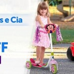 Promoção de Mini Veículos e bicicletas infantis com preços especiais