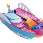 Iate Festa Tropical Y6717 infantil Polly Pocket da Mattel