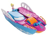 Iate Festa Tropical Y6717 infantil Polly Pocket da Mattel