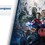 Promoção de brinquedos e acessórios da linha Vingadores da Marvel