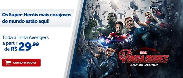 Brinquedos e Acessórios da Linha Vingadores da Marvel