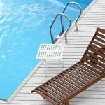 Promoção de piscinas e acessórios com descontos especiais