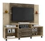 Rack com Painel para tvs cor avelã e outros modelos em oferta