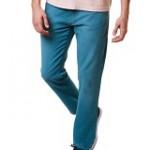 Calça masculina reserva modelo reta bolsos five pocket com bordado posterior