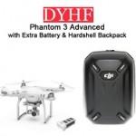 Câmera Drone profissional Dji fantasma 3 avançado com bateria extra e  mochila