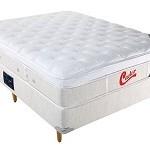 Comprar Cama Box de casal com colchão Mola Pocket Castor Vitagel