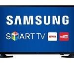 Comprar Smart TV LED 32″ Samsung Slim Função Futebol Clear Motion Rate 120Hz 2 HDMI
