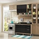 Comprar Cozinha Compacta Multimóveis Sicilia com Balcão de prateleiras internas