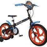 Comprar Bicicleta Infantil Caloi Hot Wheels aro 16 freio Monobloco na promoção