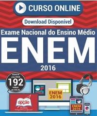 Curso online preparatório para o ENEN - Exame Nacional de Ensino Médio