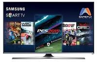 Smart TV LED 40 Samsung 40J5500 Full HD com Conversor Digital 3 HDMI 2 USB Wi-Fi Integrado Função Game