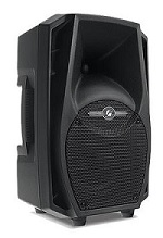 Caixa Ativa FRAHM PS12A BT USB FM 200W RMS Bluetooth Radio FM SD CARD USB Controle Remoto