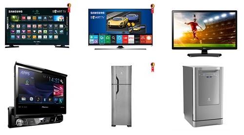 Saldão de ofertas em Smart TVs eletrônicos e eletrodomésticos com descontos promocionais - Até 60% desconto!