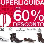 Super liquidação de marcas famosas de moda com até 60% desconto
