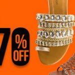 Promoção de Chinelos e Sandálias femininas com descontos especiais