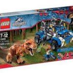 Lego Jurassic World T-rex Tracker Marrom Único com 520 peças