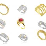 Anéis com Zircônia: Acessório de destaque indispensável para um bom look feminino