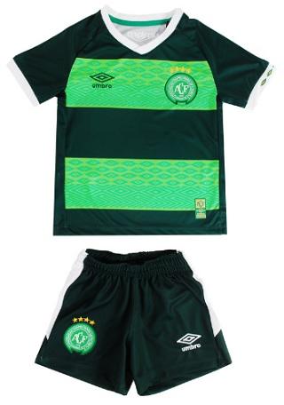 Kit Umbro Camisa e Calão Chapecoense III infantil