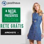 Promoção de Natal Posthaus Roupas femininas com frete grátis
