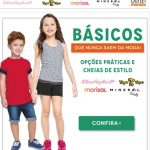 Promoção Posthaus peças básicas infantis Lilica & Tigor com 50% desconto online
