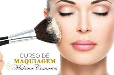 Curso online de Maquiagem completo profissional Makeme Cosmetics