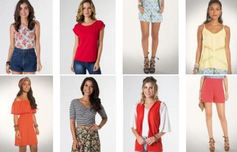 Promoção Moda feminina Mercatto Posthaus – Blusas Corppeds Shorts Vestidos e outras peças