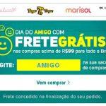 Promoção Frete GRÁTIS no dia do Amigo Moda infantil Lilica Ripilica e Tigor T. Tigre
