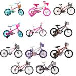 Promoção Tricae Bicicletas infantis personalizadas para meninas