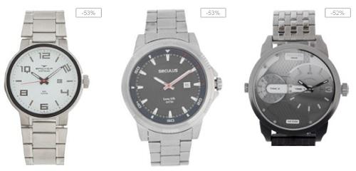 Promoção de Relógios masculinos Dafiti para o Dia dos Pais