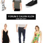 Promoção Dafiti: Forum e Calvim Klein com até com 40% desconto