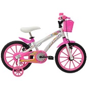 Bicicleta Athor Aro 16 baby lux feminina